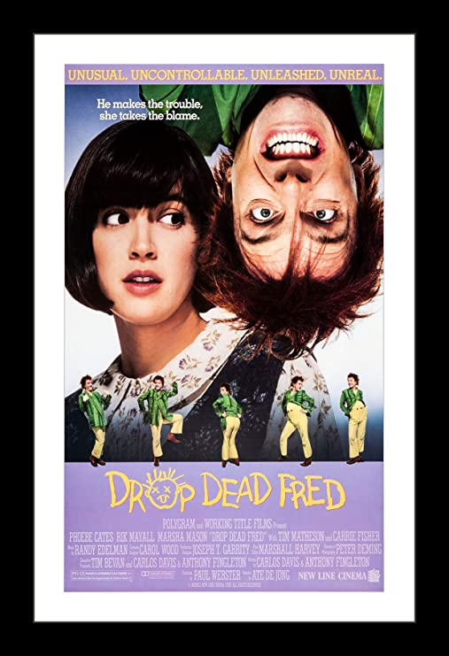 11x17 Framed Movie Poster by Wallspace DROP DEAD FRED