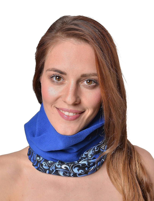 Raikou Multifunktionstuch Kopftuch Halstuch mit Fleece Nahtloses Microfaser Schlauchtuch Schal in vielen Farben
