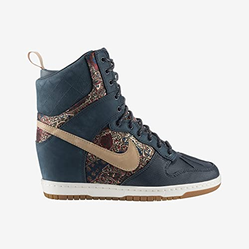 innovative design f021e 5ff2d Nike Dunk Sky Hi Liberty QS Womens Wedge Sneakerboot  Amazon.ca  Shoes    Handbags