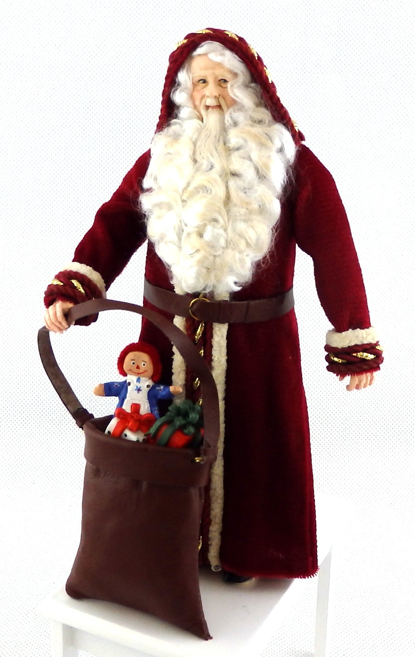 Melody Jane Dolls House Father Christmas Figure Santa Character Falcon Miniature People