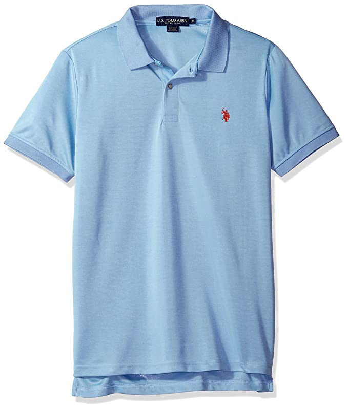 U.S. Polo Assn. Hombres 11-8027-1P Camisa Polo - Azul - Large ...