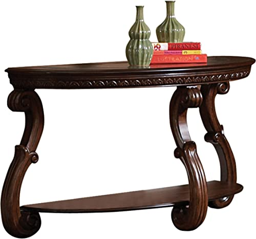 Homelegance Cavendish Sofa Table, Warm Cherry