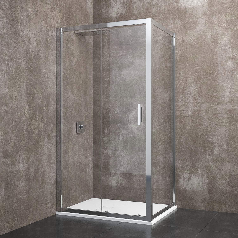 Zermatt - Cabina de ducha rectangular con puerta corredera de ...