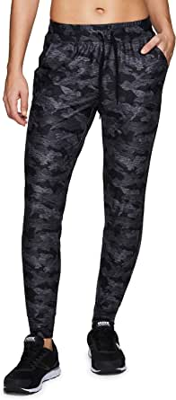 RBX Active Women's Lightweight Slim Fit Ultra Soft Jogger Sweatpants with Pockets