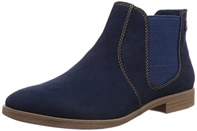 besserer Preis für authentisch erstklassiges echtes s.Oliver Womens 25302 Unlined Chelsea Boots Short Length ...