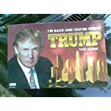 "Donald Trump Game: ""I'm Back and You're Fired"" By Parker Brothers"