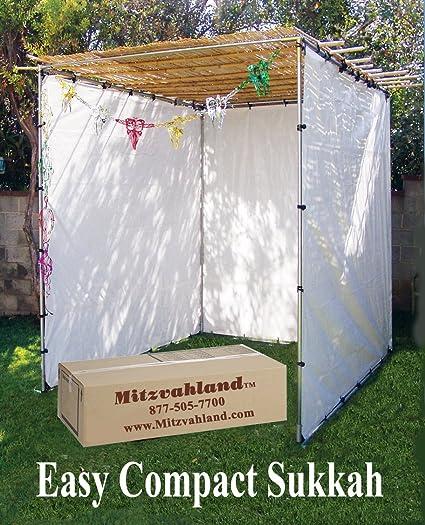 Mitzvahland Sukkah EZ Easy Compact 8x10 Feet - Sukah Suka Succah & Amazon.com: Mitzvahland Sukkah Ez Easy Compact Sukah Suka Succah ...