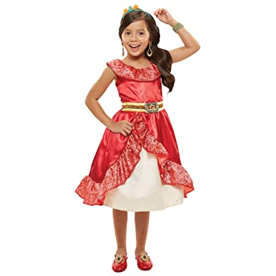 Disney Elena Of Avalor Adventure Dress 4-6x: Toys & Games