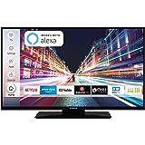 Techwood F40T52C 102 cm (40 Zoll) Fernseher (Full HD, Triple-Tuner, Smart TV, Prime Video, Works with Alexa)