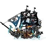 3120 NAVE DEI PIRATI COSTRUZIONI COMPATIBILI LEGO 807 MATTONCINI EUROLANDIA
