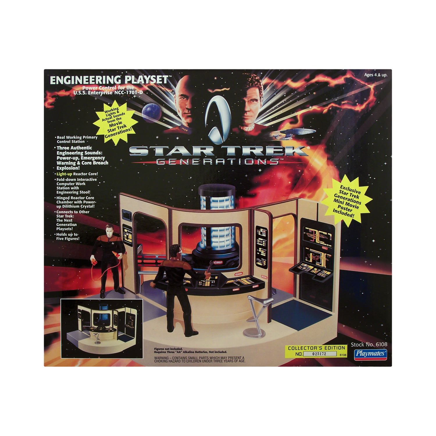 Star Trek Generations Engineering Playset Playmates SG/_B000JQ3DA4/_US