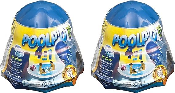 Gre 08013X2 - Pack de dosificador flotante para el mantenimiento del agua de la piscina de 10-20 m3, 1 kg: Amazon.es: Jardín
