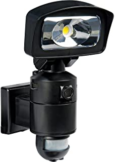 NightWatcher 16W LED Pir Security Light With Motion Detection And 720p  Camera With SD Recorder,