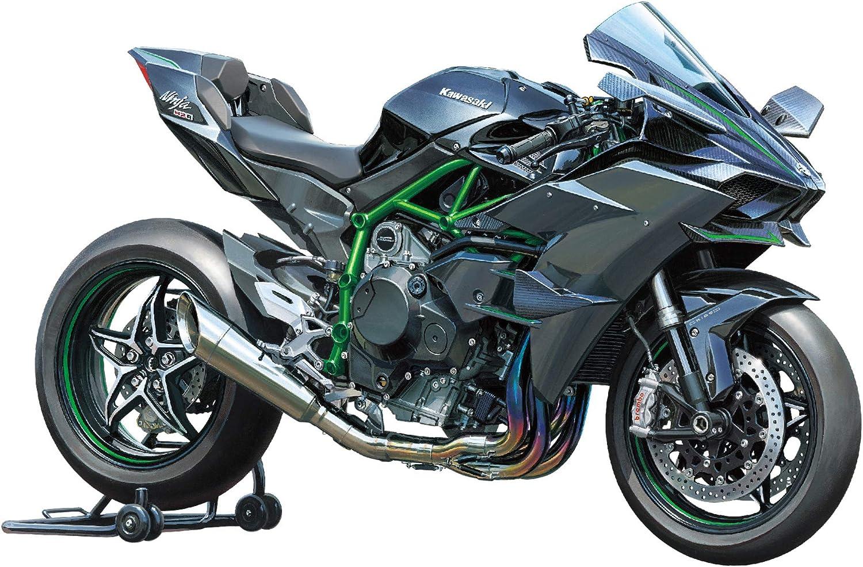 Tamiya 300014131 Vehículo de Juguete, Escala 1:12, Kawasaki Ninja H2R