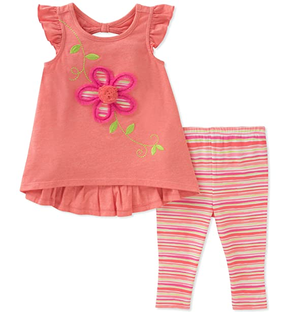 b4afb8ee4 Amazon.com  Kids Headquarters Girls  Tunic Set-Capsleeves  Clothing