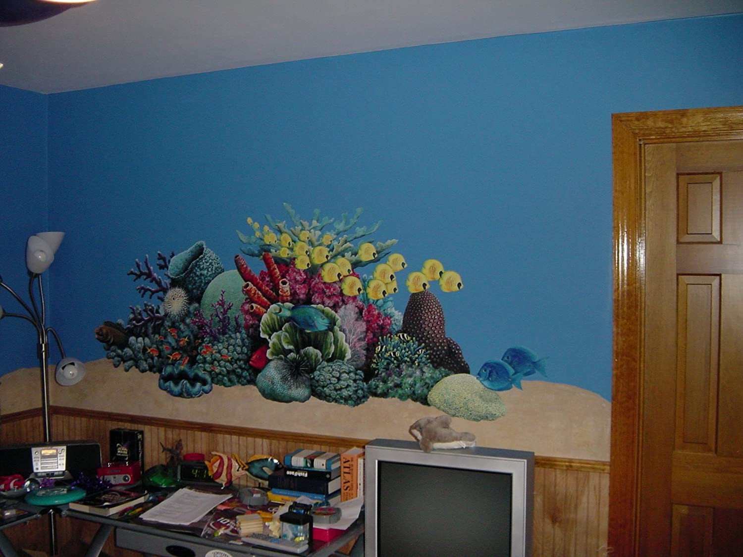 Amazon.com: Walls of the Wild 31508 Coral Reef Wall Decal Sticker ...