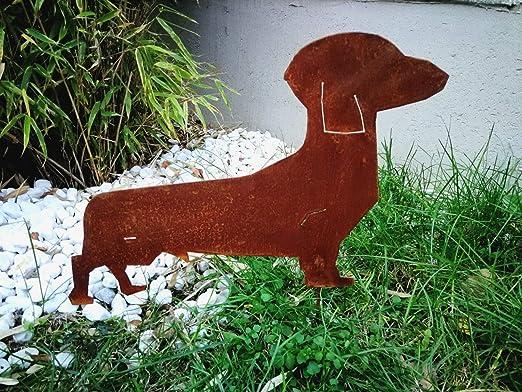 Zen Man 031081 - Decoración para jardín (Metal Oxidado, 40 x 25 cm): Amazon.es: Jardín