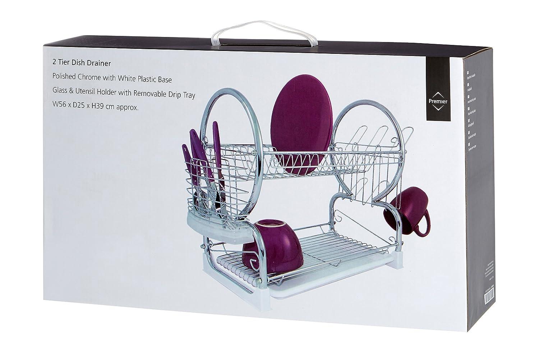 Best premier housewares egouttoir vaisselle de niveaux - Egouttoir vaisselle gifi ...