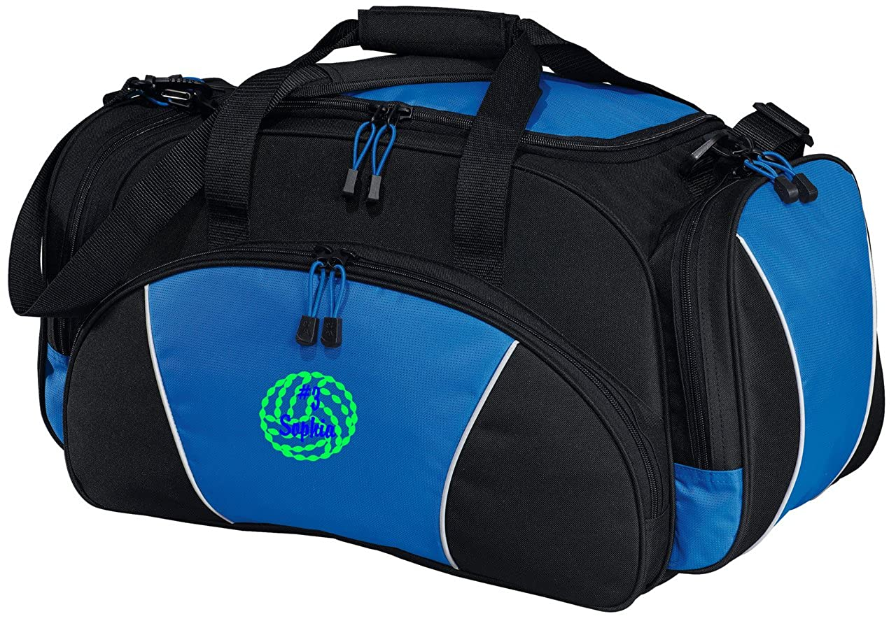 Personalized Volleyball Metro Duffel Gym and Travel Bag