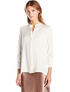 5c35addafac986 Amazon.com  Vince Women s Single Pocket Blouse  Clothing