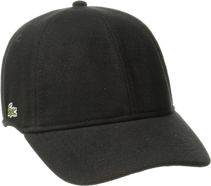 White New Lacoste Men/'s Cotton Pique Hat Baseball Cap Small Crocodile