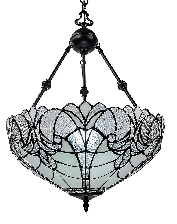 Amazon.com: Amora iluminación am263hl18 estilo Tiffany ...
