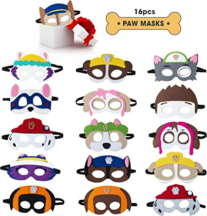 Amazon.com: Máscaras de fieltro Teehome, M: Toys & Games