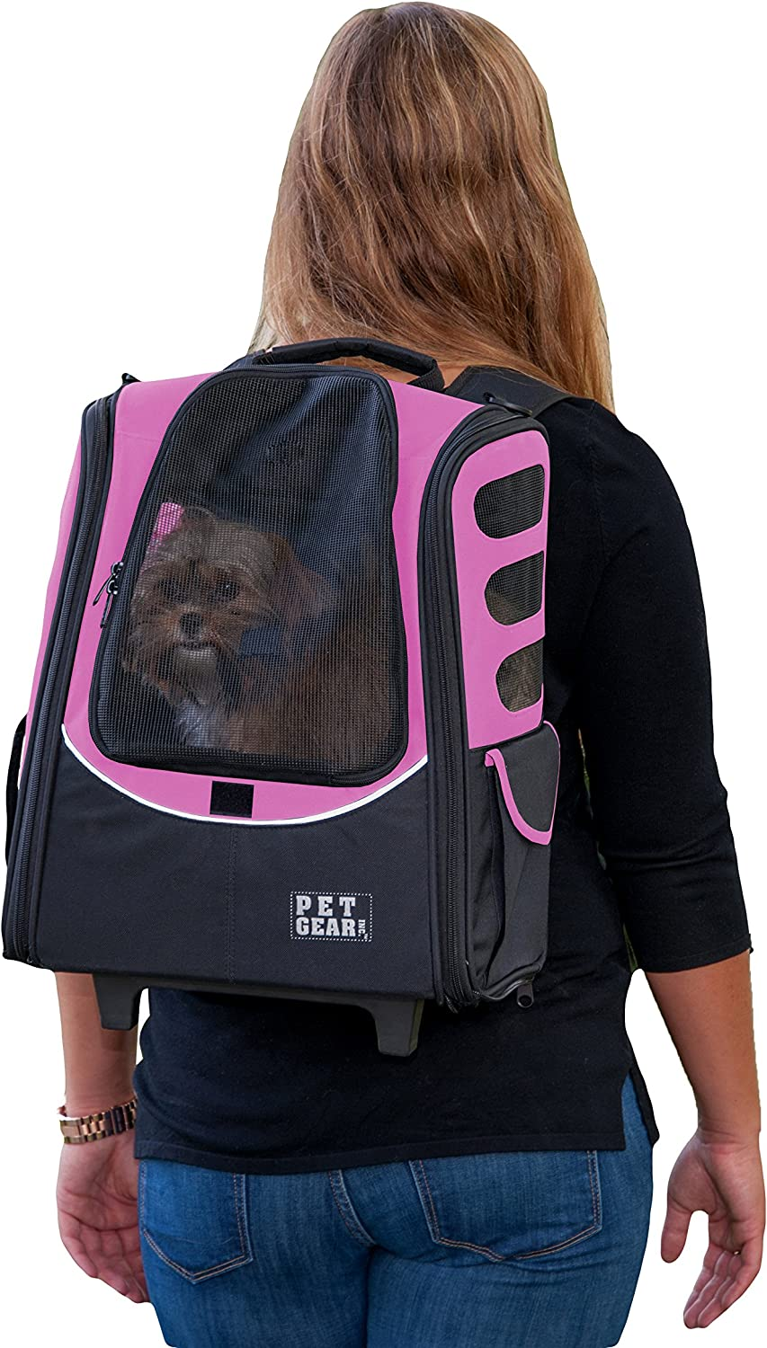 Pet Gear I-GO2 Roller Backpack Travel Cat Same day shipping Carrier Seat Car for Cheap mail order shopping