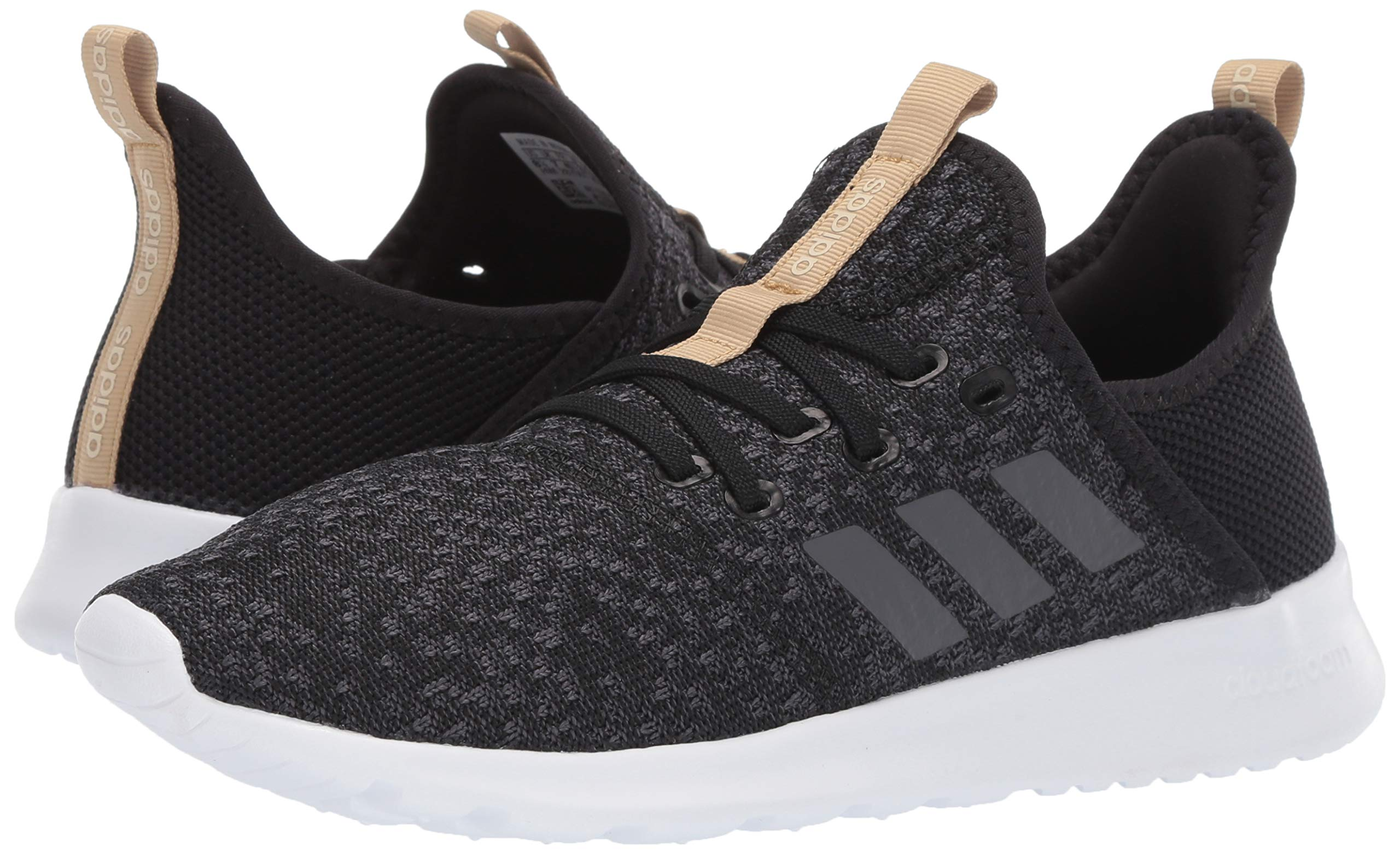 adidas Women's Cloudfoam Pure, Grey/Black, 5.5 M US by adidas (Image #5)
