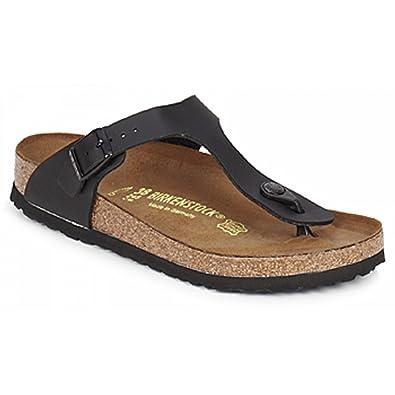 huge selection of exclusive shoes new cheap Birkenstock GIZEH - NOIR MAT 043691-45 Noir: Amazon.co.uk ...