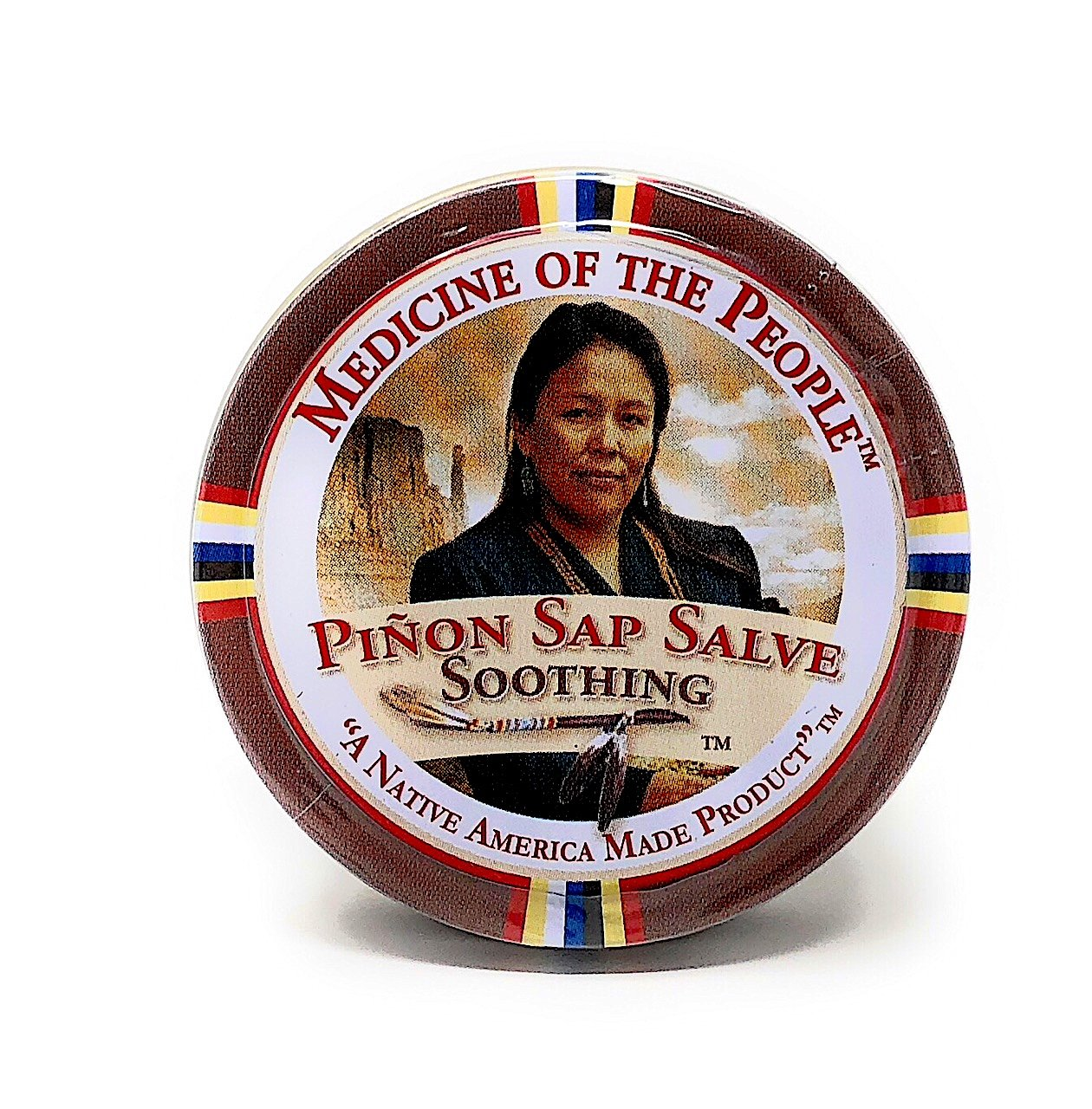 3 Tins of Navajo Medicine Of The People Pinon Sap Burn Salve 0.75 oz each - Powwow by Medicine of the People White Sage