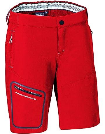 0c656858fb27d6 Segler-Bermudas LAZER TEC für die Dame - Rot - Marinepool
