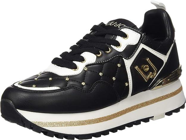 Liu Jo Maxi Alexa - Running Black, Zapatillas para Mujer: Amazon.es: Zapatos y complementos