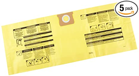 896fde9202 Shop-Vac 9190610 Collection Bags, 10 to 14 gallon, Yellow - Vacuum ...