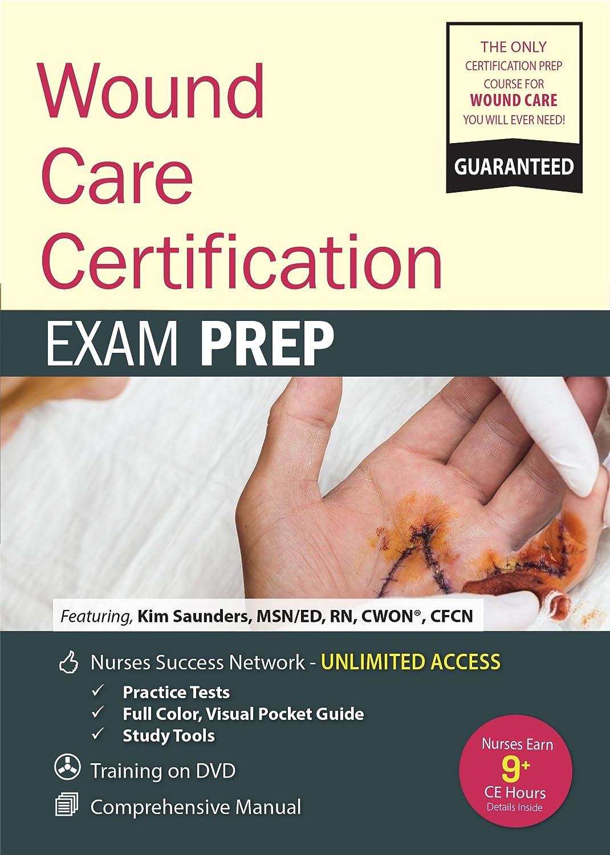 Amazon Wound Care Certification Prep Kit Kim Saunders Pesi