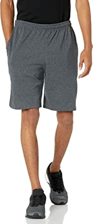 Russell Athletic Men's Cotton Baseline Short with Pockets