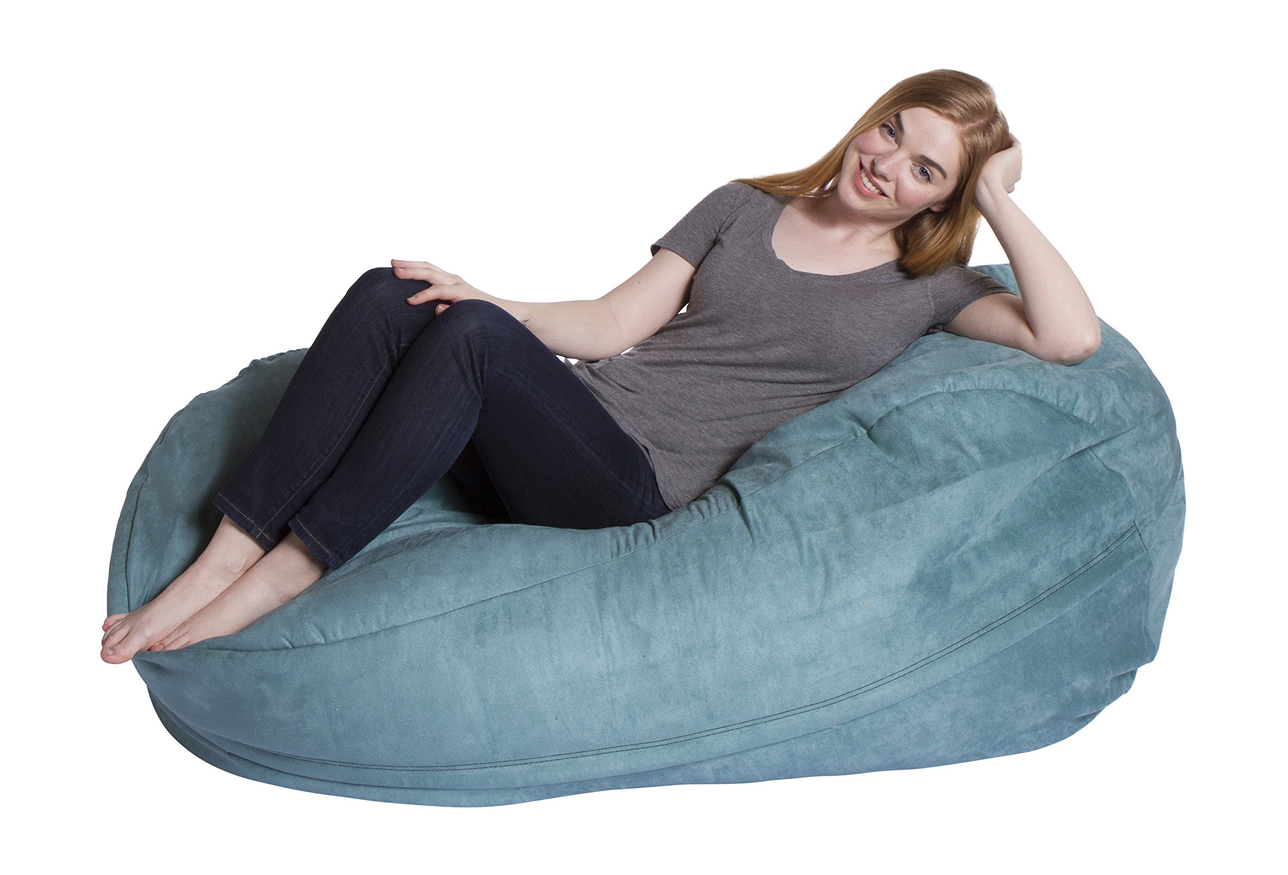Giant Bean Bag Chair Econo Foam-Filled Lounge Sac