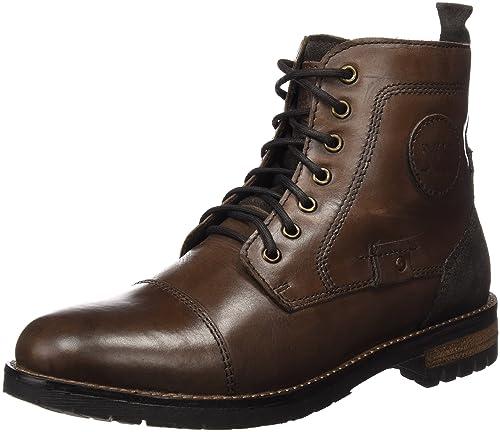XTI Botin CRO. Piel Marron, Zapatos de Cordones Oxford para Hombre, 40 EU: Amazon.es: Zapatos y complementos