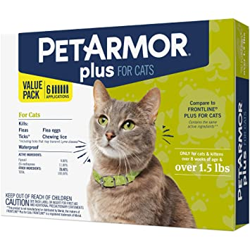 Amazon.com: Petarmor Plus tratamiento anti pulgas y ...