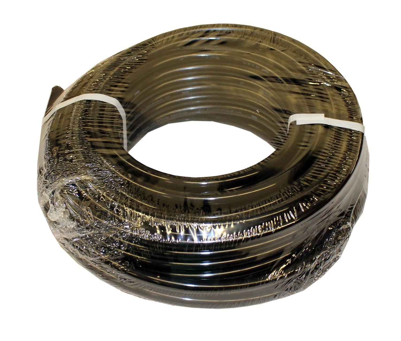 "ATP Nylochem Nylon Plastic Tubing, Black, 5/64"" ID x 1/8"" OD, 100 feet Length"
