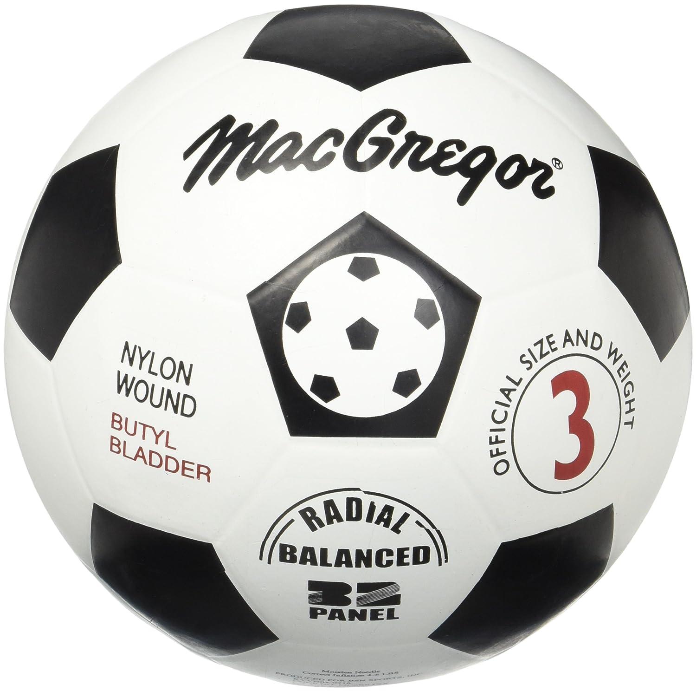 MacGregor – de goma balón de fútbol (tamaño 3): Amazon.es ...