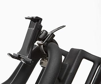 SALTER - 48590 Soporte de Tablet o móvil para Bicicletas de Indoor (Negro): Amazon.es: Deportes y aire libre