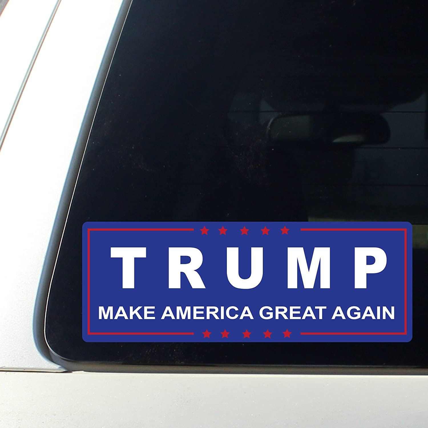 Amazon com trump making america great again bumper sticker window decal vinyl donald for presidential election 2016 automotive
