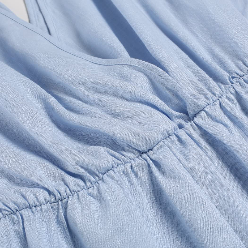 Women Casual V-Neck Batwing Sleeve Lace Loose Short Jumpsuit Romper Playsuit