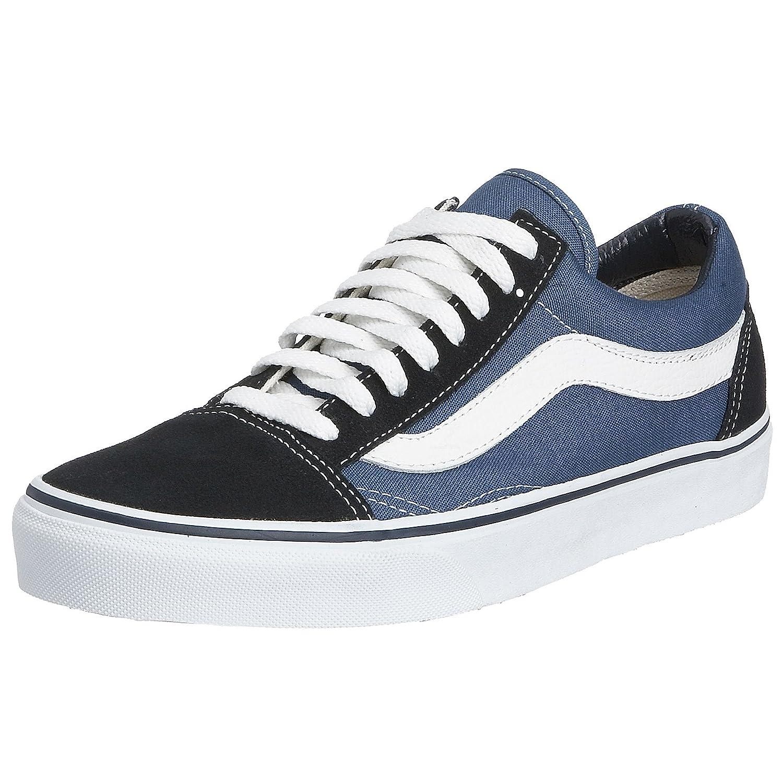 Vans Old Skool, VD3HNVY, Unisex Erwachsene Sneakers, Blau (Navy), 48 EU