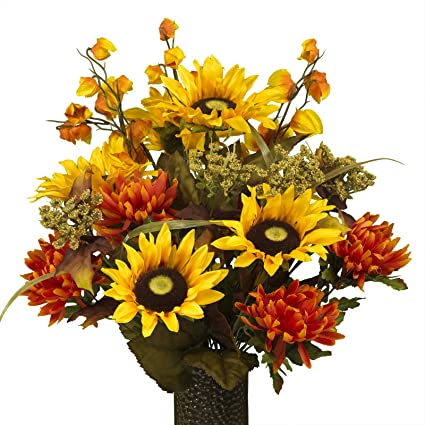 Amazon Artificial Cemetery Flowers For Outdoor Grave