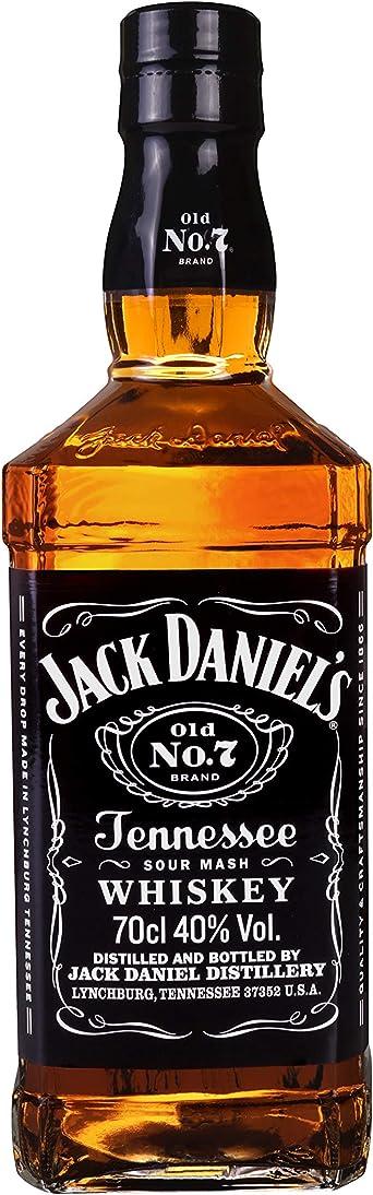 Jack DanielS Tennessee Whisky, 0.7L