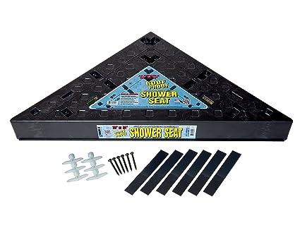 Corner Shower Seat Tile.Goof Proof Shower Gpss 3024 Triangle Tiled Shower Seat 30 24
