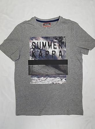 Kappa Camiseta Manga Corta Hombre AGERN Talla 2XL: Amazon.es: Ropa y accesorios