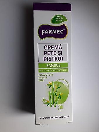 Crema para manchas, pecas y blanquo del cutis- con ácidos de frutas